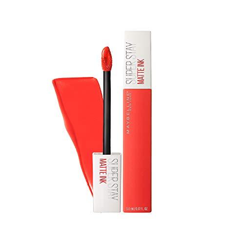 Maybelline New York SuperStay Matte Ink Liquid Lipstick, Heroine, 0.17 fl. oz.