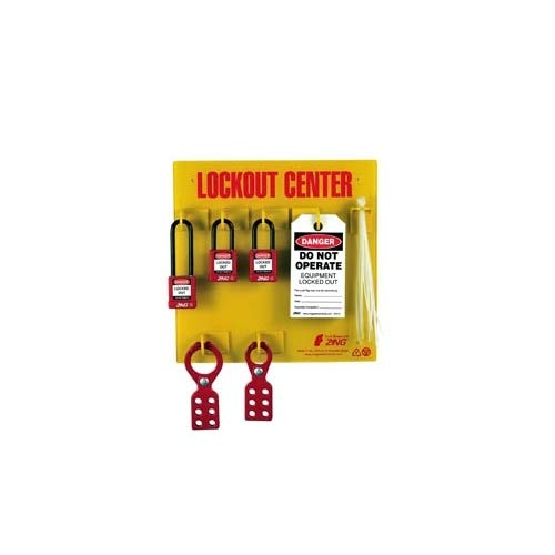Zing Green Products 7113, RecycLockout Lockout Tagout Station (Pack of 2 pcs)
