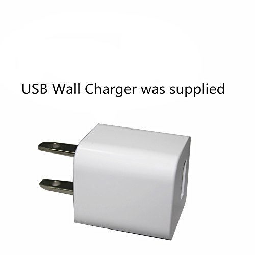 Kulannder Wii remote battery charger(Free USB Wall Charger+lengthened cord) Dual Charging Station Dock with Two Rechargeable capacity Increased Batteries for Wii /Wii U Game Remote Controller (White)