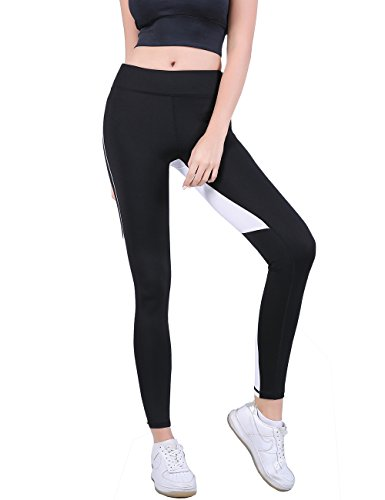 Pink Peach Women's Sexy Workout Leggings Mesh Splicing Yoga Sport Pants Heart Shape Butt