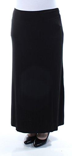 a7e540e6d kensie Women's Light Weight Jersey Maxi Skirt, Black, X-Small ...