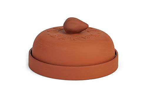 (Fox Run 3921 Garlic Baker, 7-Inch, Terra Cotta)
