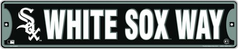 Dixie White Sox Way Chicago White Sox Street Sign