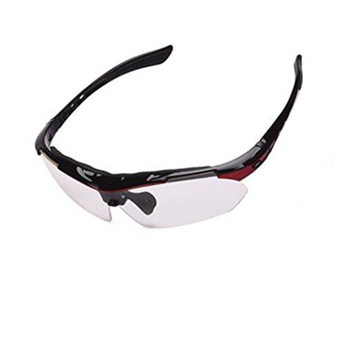 Viento a Red miopía Montar Gafas de Prueba Sol qEUvX