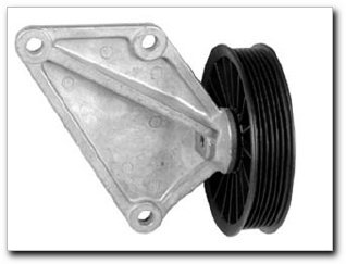 Motormite A/C Compressor Bypass Pulley for 1995-88 Taurus, Sable with 3.8L (34151) (88 A/c Bypass Pulley)