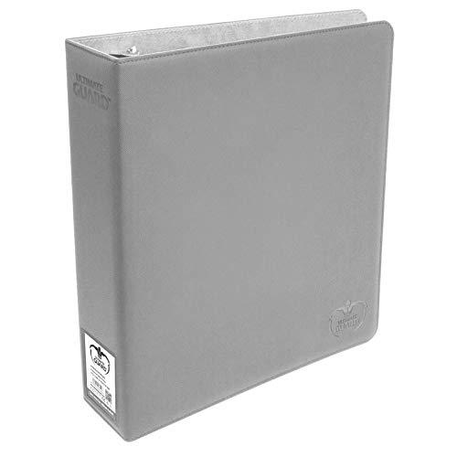Grey Ultimate Guard XenoSkin Supreme Collectors Album 9 Pocket Card 3 Ring Storage Binder