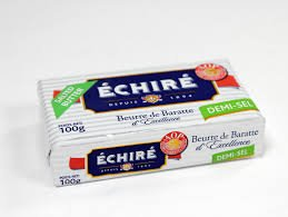 French Echire Butter, Salted - 8.8 oz (10 Pack)