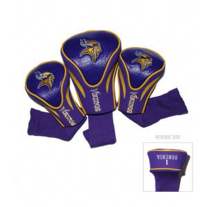 Minnesota Vikings Contour Fit Headcover Set by Team Golf