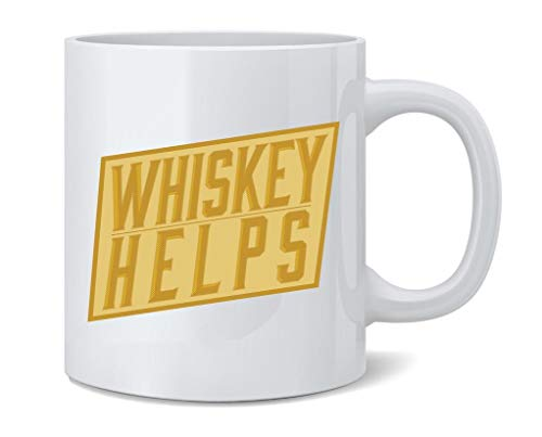 Whiskey Helps 12 oz Mug Coffee Mug