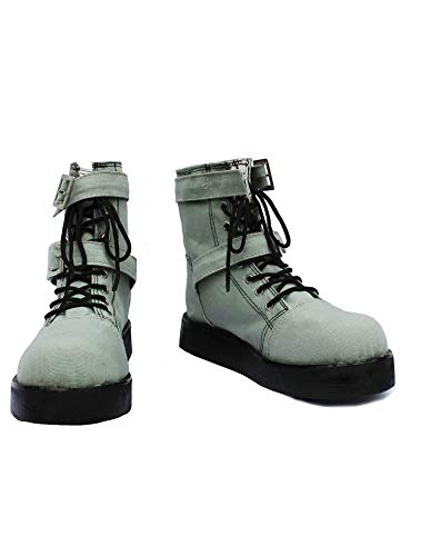 GOTEDDY Hope Halloween Cosplay Booties Short Boots Lace-up Flat Shoes -