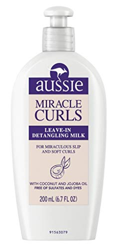 (Aussie Leave-In Detangling Milk Miracle Curls 6.7 Ounce (200ml) (3)