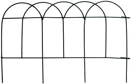 GJNVBDZSF Paneles para cercas de jardín: Bordes de césped con Efecto de Madera para Bordes de Plantas y parterres: Amazon.es: Hogar