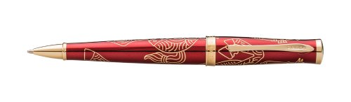 Cross 2014 Year Of The Horse Special Edition Collection, Imperial Red Lacquer, Ballpoint Pen (AT0312-16)