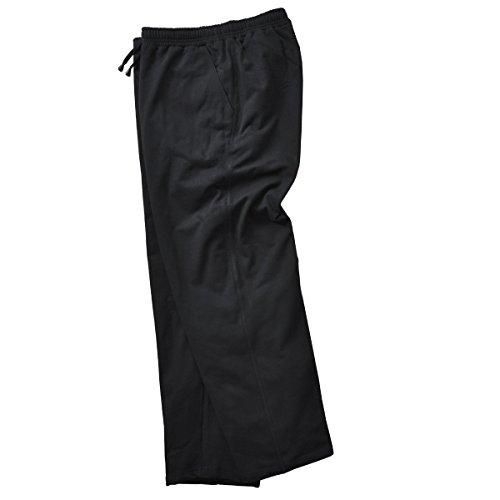 Adamo Sweatpants Fashion Size Long Large Black rPrHw5q
