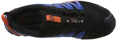Black GTX Nautical Blue Salomon Hombre XA Calzado 3D de Negro Running Pro para Trail Flame Negro qZ7Z6wrt