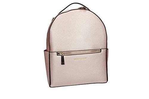 Borsa donna zaino a spalla PIERRE CARDIN rosa borsa con apertura zip VN1855