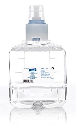 GOJO 1905-02 PURELL LTX-12 LTX Instant Foam Hand Sanitizer, Shape, (Pack of 2)
