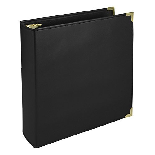 (Samsill Classic Collection Executive Presentation Binders, 3 Ring Binder 2 Inch , Black by Samsill )