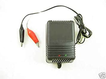 12 Volt Battery Trickle Charger With Alligator Ends