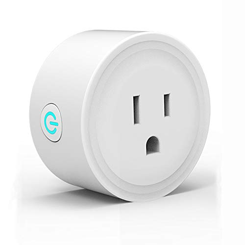 Smart Plug Electrical Outlet, Wifi Enabled Socket, Alexa/Google Home, APP(SmartLife) Remote Control ON/OFF/Timer Switch