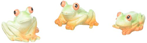 Mini Accents Frog - Darice DCZS14008 Mini Frogs Resin