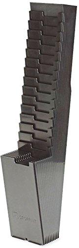 Acroprint® 25-Pocket Time Card Rack for Model ATR120, Plastic, Black