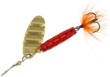 Luhr Jensen 1//4 Shyster Feather Spoon