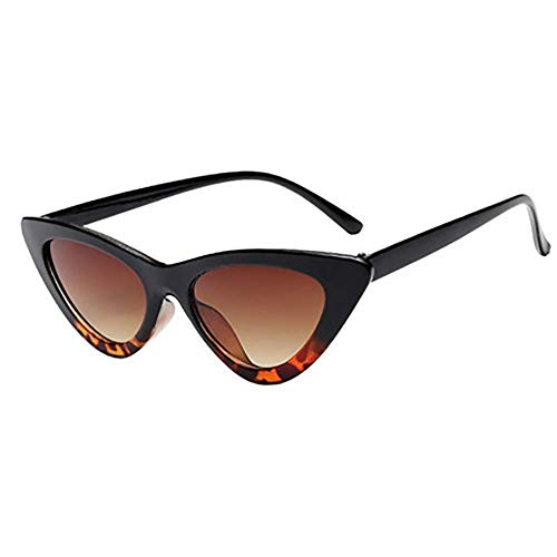 Cat Eye Sunglasses for Women Vintage Retro Style Plastic Frame UV 400 Protection -