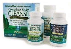 Natures Plus Complete Body Cleanse Kit - 14 Day Cleanse, 140 Vegetarian Capsules - Herbal Body Detox & Colon Cleanse for Weight Loss, Energy Booster - Organic, Gluten Free - 42 Servings