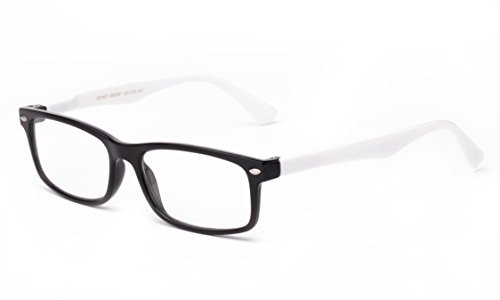 Newbee Fashion - Unisex Translucent Simple Design No Logo Clear Lens Glasses