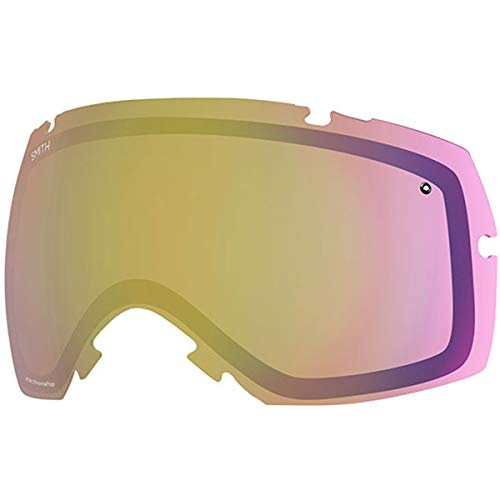 Smith Optics IOX/IOX Turbo Adult Replacement Lens Snow Goggles Accessories - Chromapop Storm Yellow Flash/One Size