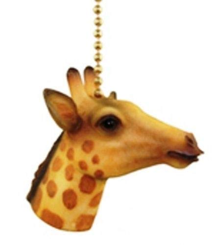 Jungle Safari Giraffe Kids Nursery Fan Light Pull
