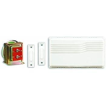 Heath/Zenith SL-27102-02 Doorbell Contractor Kit White