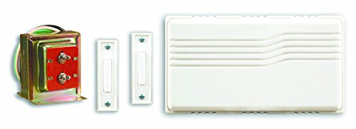 Heath/Zenith SL-27102-02 Doorbell Contractor Kit, White