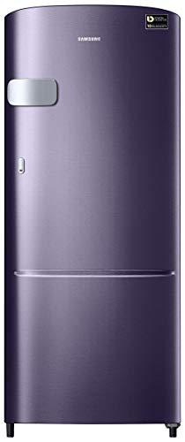 Samsung 192 L 4 Star Inverter Direct Cool Single Door Refrigerator(RR20T1Y2XUT/HL, Pebble Blue)