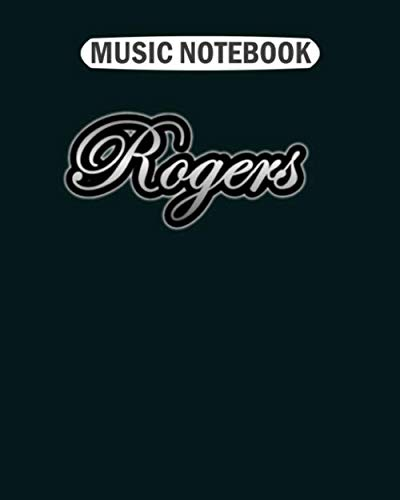 Photo Music Notebook: vintage rogers drums  Music Sheet- 50 sheets, 100 pages - 8 x 10 inches