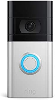 All-new Ring Video Doorbell 4 – improved 4-second color video previews plus easy installation, and enhanced wi