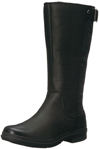 UGG Women's Janina Snow Boot, Black, 6 M US by UGG