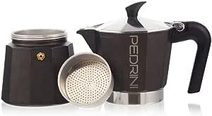 جهاز تحضير القهوة الاسبريسو على الطاولة من بيدريني - 2 كوب - اسود - 2724318507638