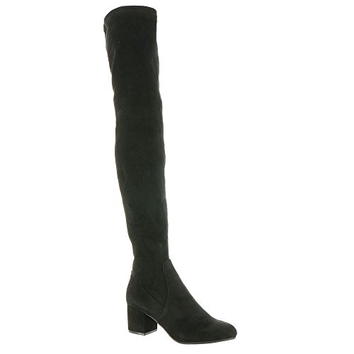 Madden Isaac Harness Boot Women's Velvet Black Steve TZfxn8qwx