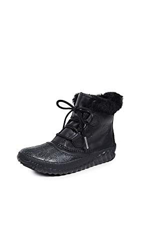 Sorel Women's Out N About Plus Lux Boots, Black, 6.5 M US