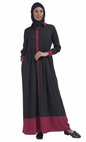 East Schwarz Essence Durchgehend xxxxxl Kleid Schwarz Damen Gr qFqB7