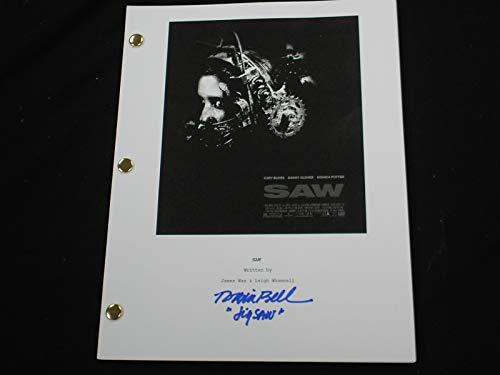 TOBIN BELL Signed SAW Move SCRIPT Autograph JIGSAW RARE
