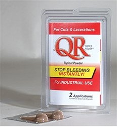 Wound Seal QR Quick Relief Blood Stopper 2 ct Stop Bleeding Fast And Now