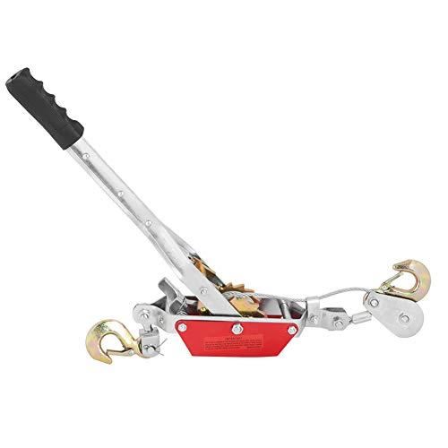 Handseilwinde, Drahtseil Ratsche Hand Power Puller anziehen Werkzeug Mini Spanner Doppelhaken Hebewerkzeug