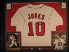 Atlanta Braves Chipper Jones Framed - 8