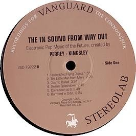 Jean Jacques Perrey & Gershon Kingsley / The In Sound From Way Out