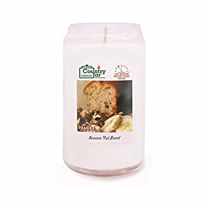 Country Jar Banana NUT Bread Candle (14.5 oz. Candle Jar Can-Shaped) [+] 15%-20% Off Entire Catalog! Mix or Match!