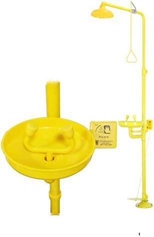 ABS Coating Combination Shower Station Emergency Eye Wash Eyewash Station