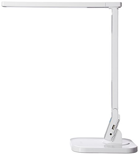 Anker Lumos LED Desk/Desk Lamp with USB Charging Port, Eye - Care Tech, 4 Lighting/Color Modes, 5-Level Dimmer, Touch-Sensitive Control Panel, Highly Adjustable (Best Anker Cheap Tables)
